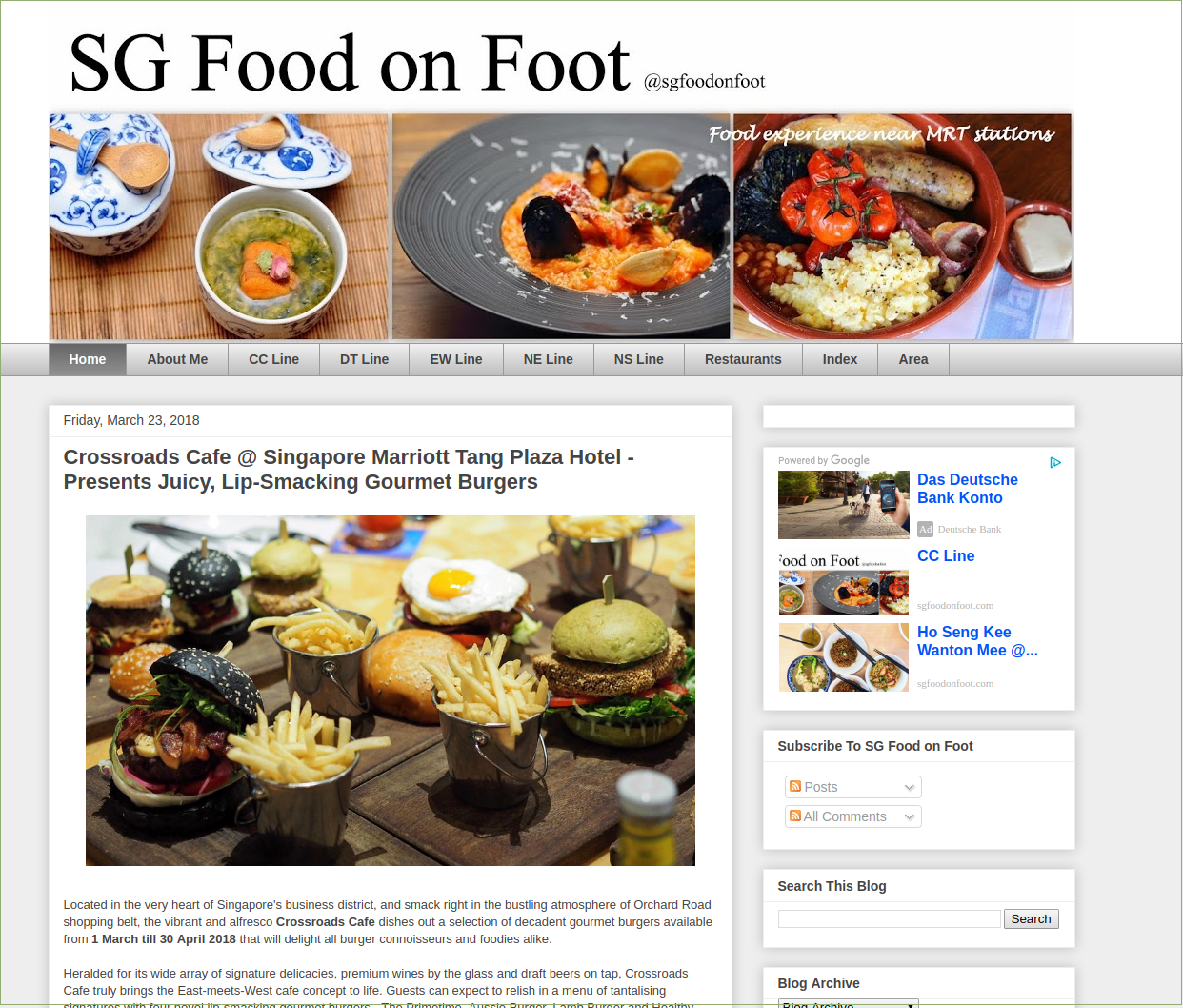 Blogregister category food sg food on foot singapore food blog best singapore food singapore food reviews forumfinder Choice Image
