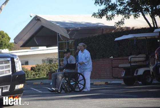 В начале февраля были обнародованы снимки Воробьева на инвалидном кресле