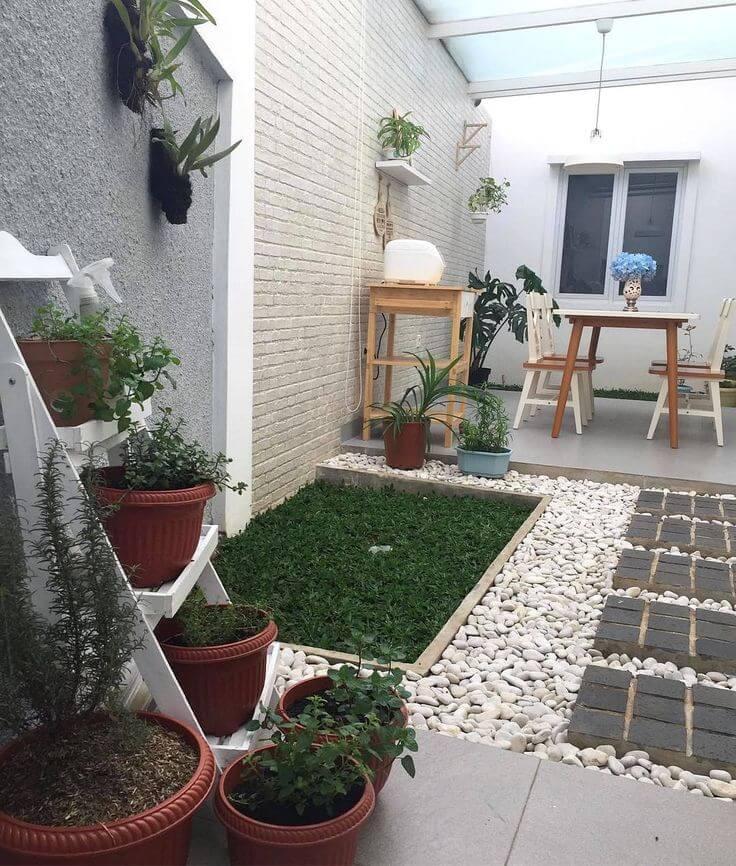 taman minimalis memiliki banyak manfaat, salah satunya memperindah rumah
