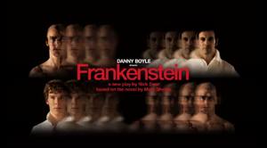 Frankenstein with benedict cumberbatch dvd