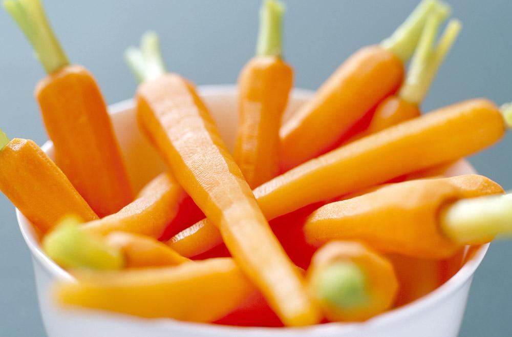 Свежая морковь при беременности