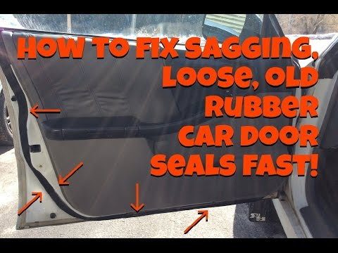 Best glue for car door seals