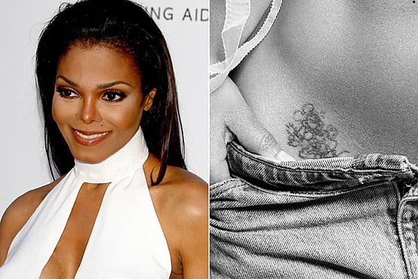 Janet jackson tattoos