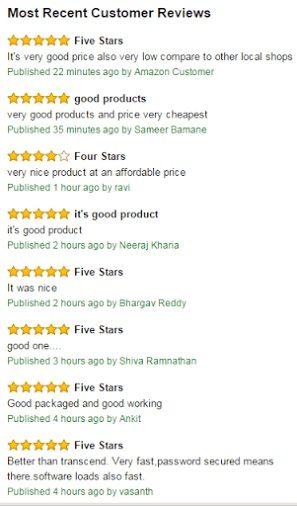 Amazon-India-Feedback