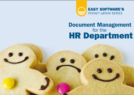 EASY SOFTWARE UK's pocket ebook series continues with Document Management for HR