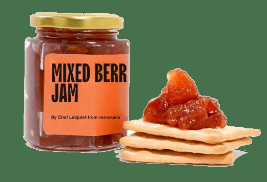 Venezuelan Tres Berries Jam