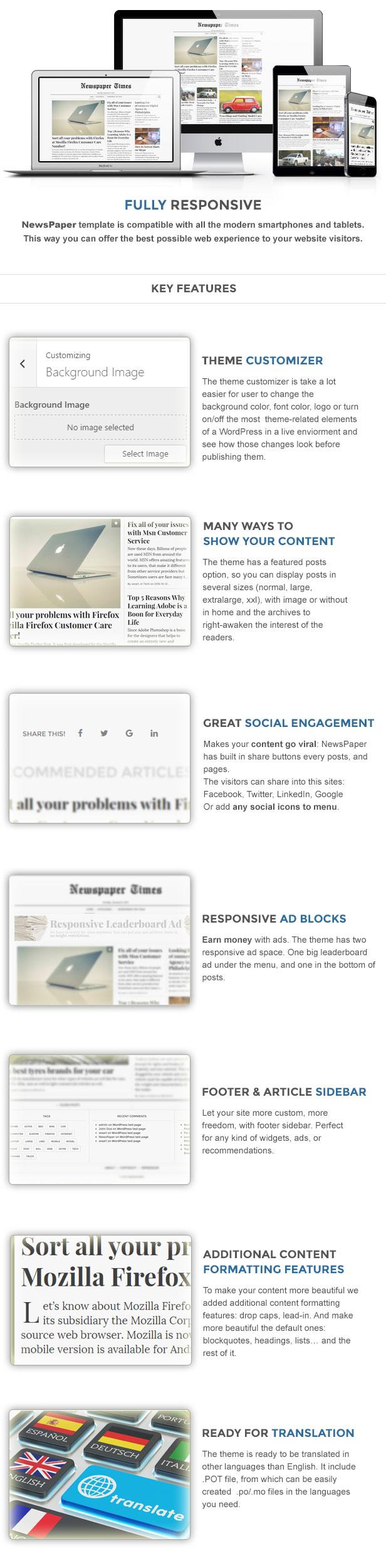 NewsPaper - News & Magazine WordPress Theme - 2