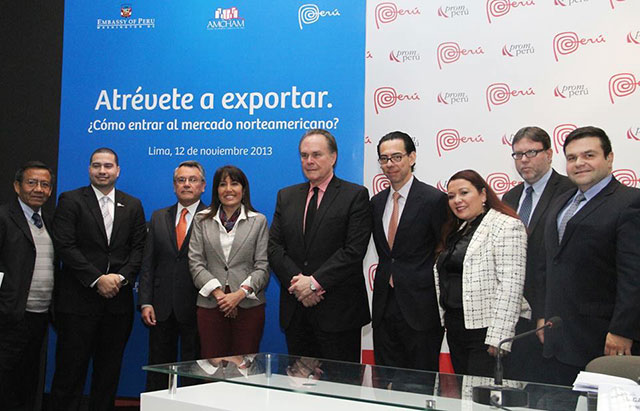 Part of the Panel of Speakers invited by the Peruvian goberment to speak about its experience doing ethical practices while doing business in the United States