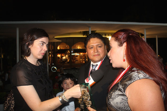 """""""New Generation Entrepreneur Tumi Awards"""" The Tumi USA Award honors those Peruvian immigrants in the USA excelling as professionals"""
