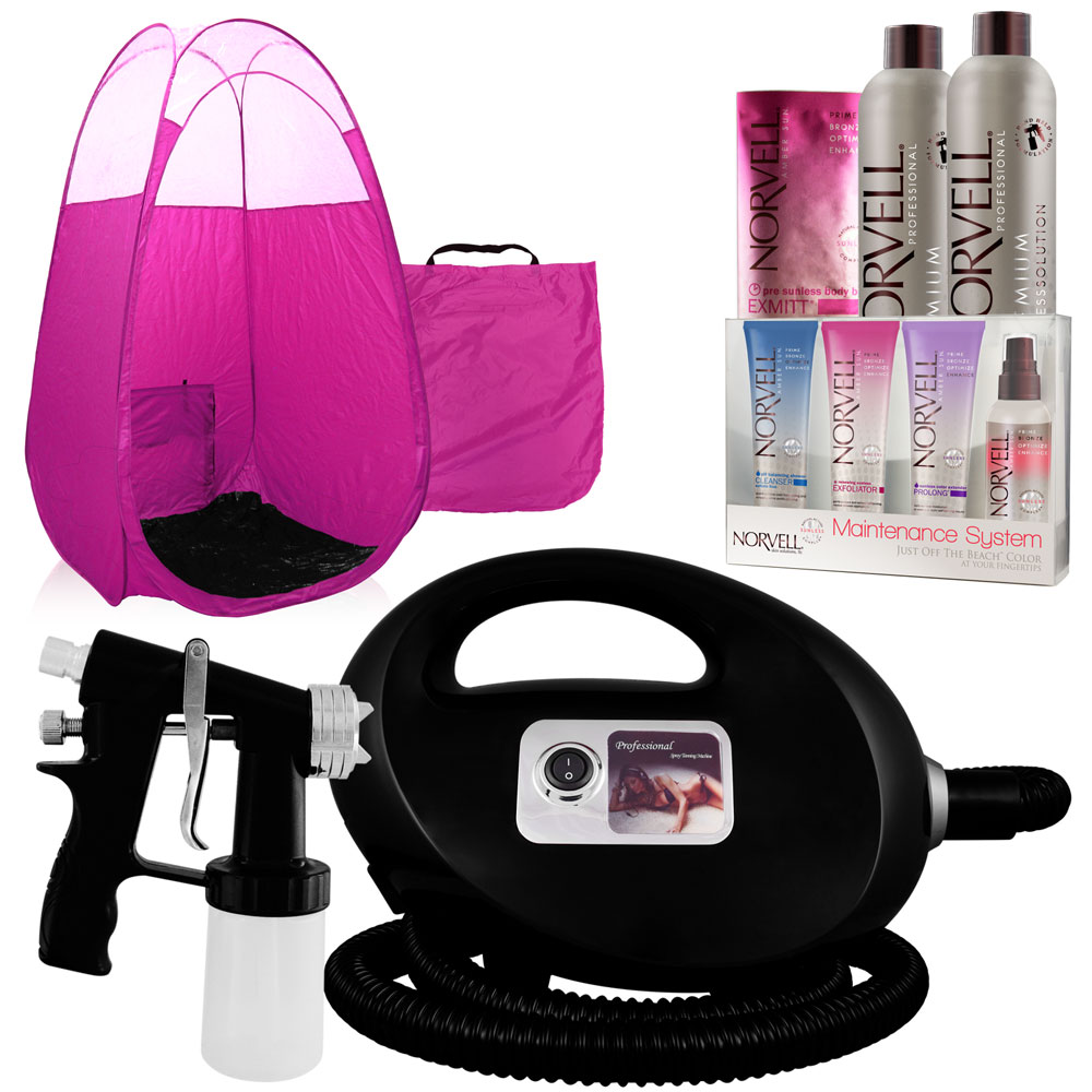 norvell spray tanning machine