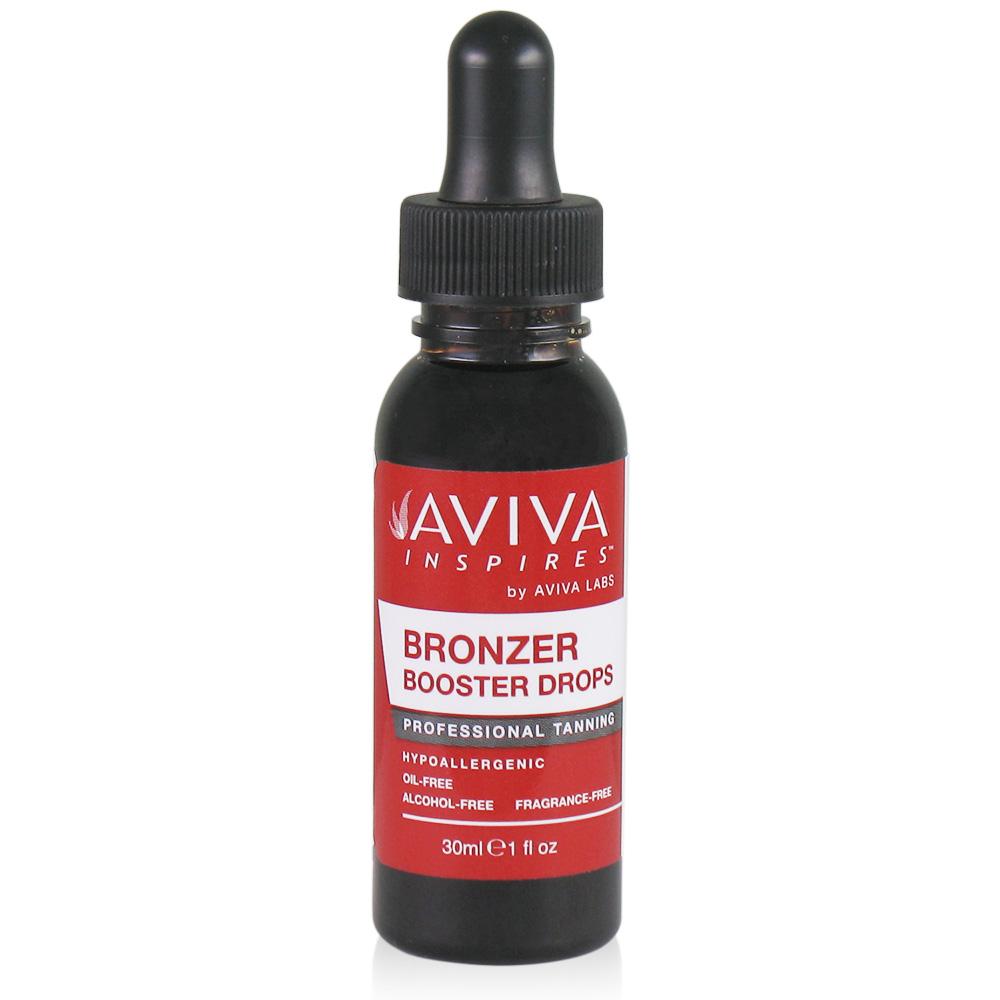 aviva inspires bronzer booster drops