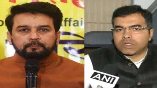 अनुराग और प्रवेश पर EC सख्त, BJP कैंपेनर लिस्ट से बाहर करने को कहा