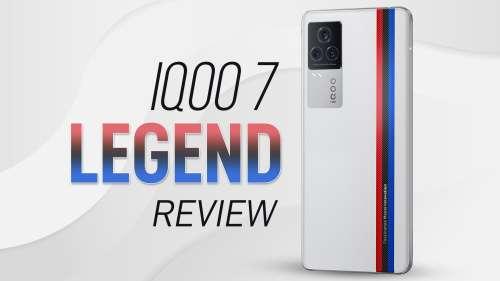 IQOO 7 Legend Review: the flagship killer rises!