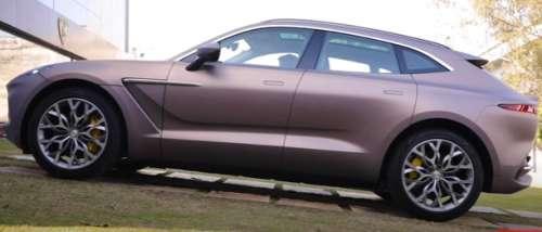 Aston Martin DBX preview
