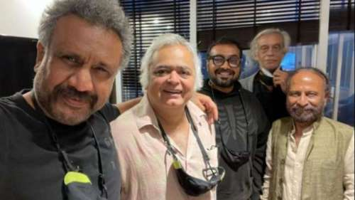 Anubhav Sinha shares picture of a samosa party with his director friends
