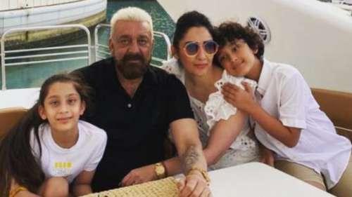 पत्नी और बच्चों के पास दुबई लौटे Sanjay Dutt