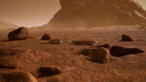 मंगल ग्रह से कहीं नहीं गया पानी, सतह के नीचे खनिजों में छुपा है: स्टडी