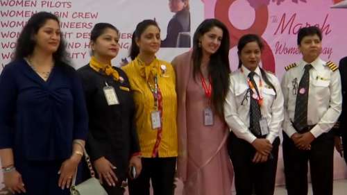 Alliance Air runs inaugural flight from Delhi to Bareilly with all-women crew