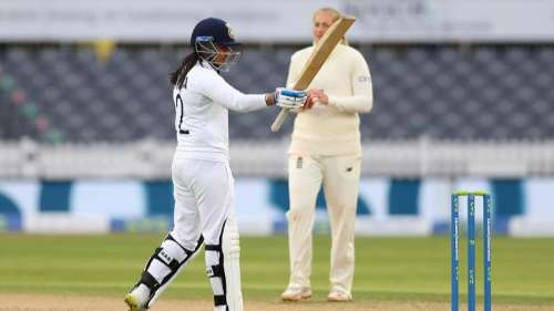 Debutant Sneh Rana secures thrilling & historic draw for India vs England