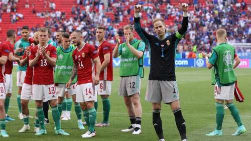 Hungary stun France