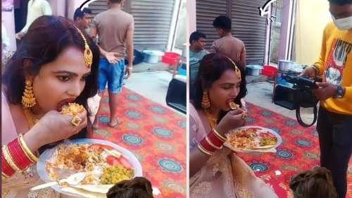 Viral Video: बिरयानी की प्लेट भी है, Taste चखने के लिए महिला तैयार भी है..लेकिन कहानी में ट्विस्ट है