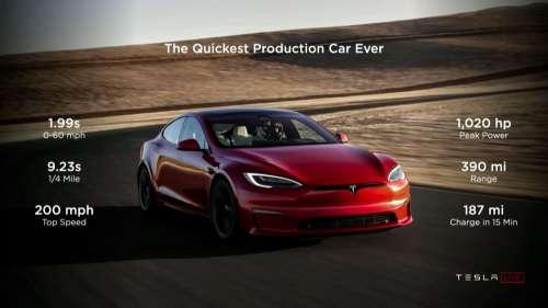 Tesla ने लॉन्च की अपनी Fastest Car, 2 सेकेंड में पकड़ लेती है 100 की रफ्तार