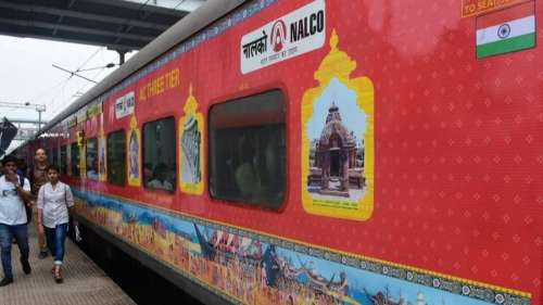 Bhubaneswar-New Delhi Rajdhani Express flagged off