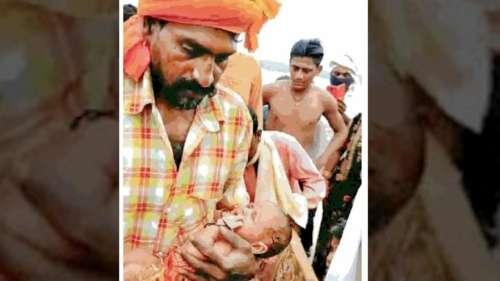 'Gift from Ganga': Boatman finds newborn girl in a floating box