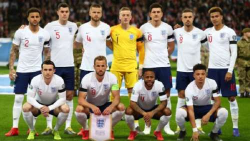 Big contenders: England