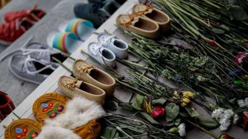 Canada children's mass grave