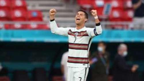 Ronaldo makes history