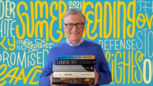 Bill Gates recommends these 5 books for summer reading