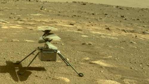 NASA की बड़ी कामयाबी, मंगल ग्रह पर सुरक्षित उतारा हेलीकॉप्टर 'Ingenuity'