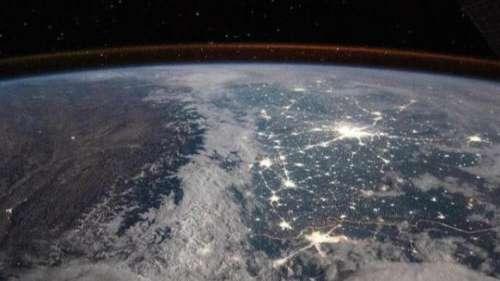नासा ने दिखाई अंतरिक्ष से बर्फ से ढंकी हिमालय की खूबसूरती