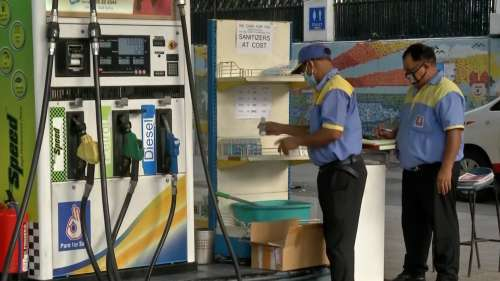 Fuel prices hit new highs