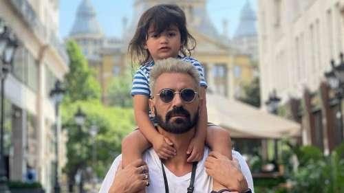 Arjun Rampal spends 'quality time' with girlfriend Gabriella & son in Budapest