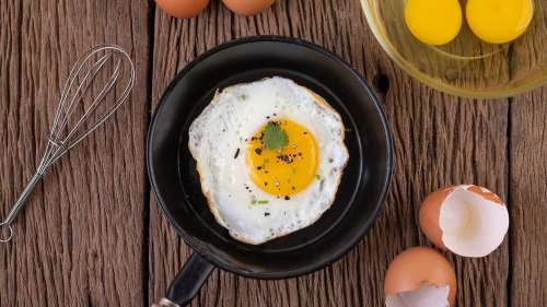 Science behind taste of eggs