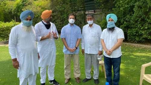 Punjab Ekta Party ने कांग्रेस में विलय का ऐलान किया, दिल्ली में Rahul Gandhi से की मुलाकात