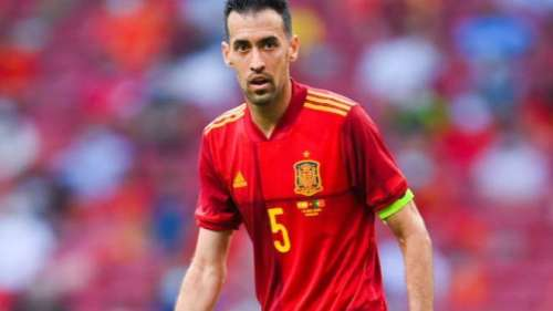 Busquets tests positive