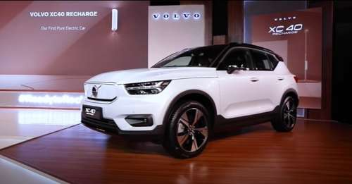 Volvo XC40 Recharge preview