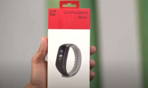 OnePlus band unboxing