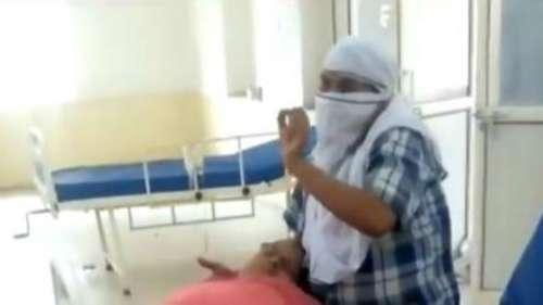आगरा: वो चीखता रहा, सरकारी डॉक्टर दौड़ाते रहे, मां की हो गई मौत!
