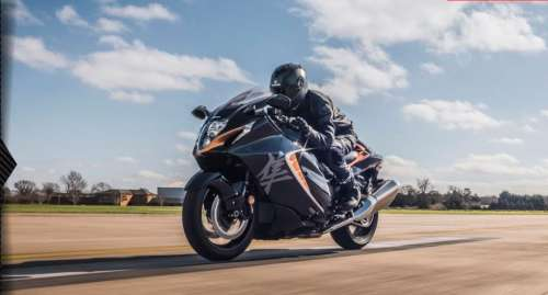 Hayabusa sold out in India!