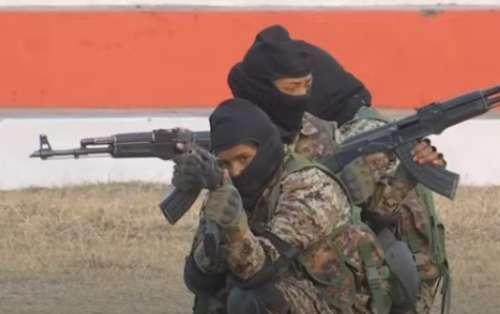 Women cops train for ATS