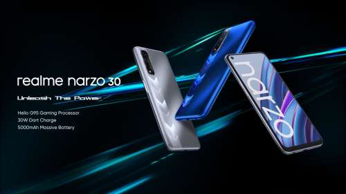 Realme Narzo 30 4G and 5G editions to be available on Flipkart upon June 24 launch