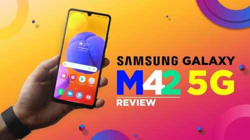 Samsung Galaxy M42 5G Review: Snapdragon 750G | 48MP quad cam | 5,000mAh