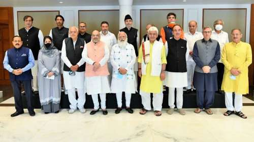 PM's meet with Gupkar alliance ends, delimitation, statehood, polls discussed