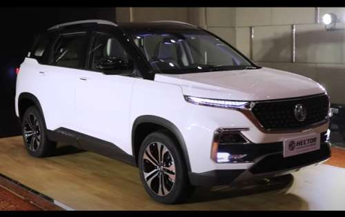 2021 MG hector first look