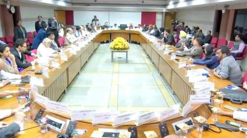सर्वदलीय बैठक में गूंजा NRC-CAA, अर्थव्यवस्था और कश्मीर का मुद्दा