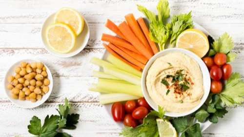 Have hummus to lose weight